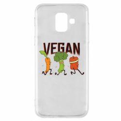 Чохол для Samsung A6 2018 Веган овочі