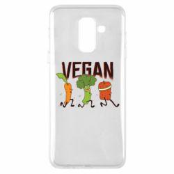 Чохол для Samsung A6+ 2018 Веган овочі
