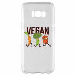 Чохол для Samsung S8+ Веган овочі
