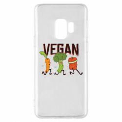 Чохол для Samsung S9 Веган овочі