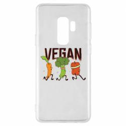 Чохол для Samsung S9+ Веган овочі