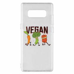 Чохол для Samsung Note 8 Веган овочі