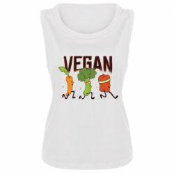 Майка жіноча Веган овочі