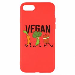 Чохол для iPhone 8 Веган овочі