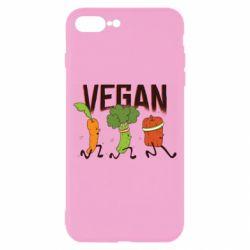 Чохол для iPhone 8 Plus Веган овочі