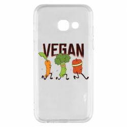 Чохол для Samsung A3 2017 Веган овочі