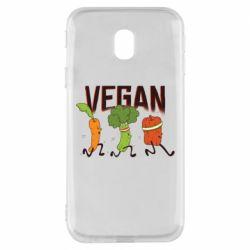 Чохол для Samsung J3 2017 Веган овочі