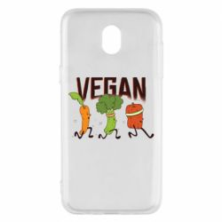 Чохол для Samsung J5 2017 Веган овочі