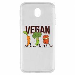 Чохол для Samsung J7 2017 Веган овочі