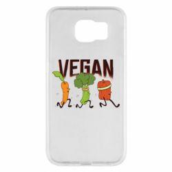 Чохол для Samsung S6 Веган овочі