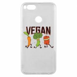 Чохол для Xiaomi Mi A1 Веган овочі