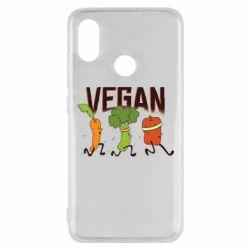 Чохол для Xiaomi Mi8 Веган овочі