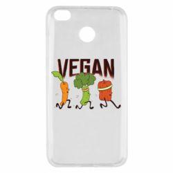 Чехол для Xiaomi Redmi 4x Веган овощи