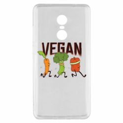 Чохол для Xiaomi Redmi Note 4x Веган овочі