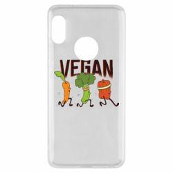 Чохол для Xiaomi Redmi Note 5 Веган овочі