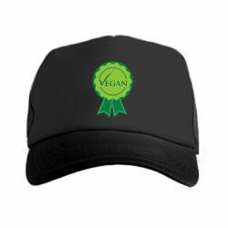 Кепка-тракер Vegan