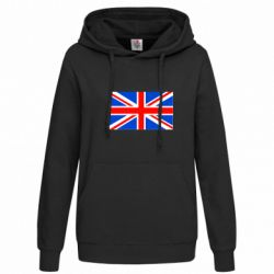 Женская толстовка Великобритания - FatLine