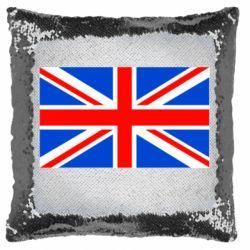 Подушка-хамелеон Великобритания