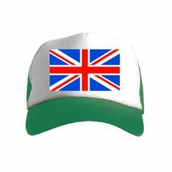 Детская кепка-тракер Великобритания