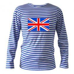 Тельняшка с длинным рукавом Великобритания - FatLine