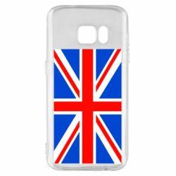 Чехол для Samsung S7 Великобритания