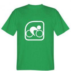 Мужская футболка Велоспорт