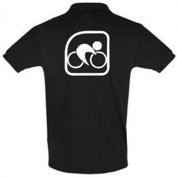 Мужская футболка поло Велоспорт
