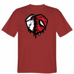 Чоловіча футболка Venom and spiderman