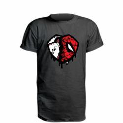Подовжена футболка Venom and spiderman