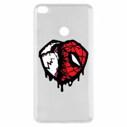 Чехол для Xiaomi Mi Max 2 Venom and spiderman