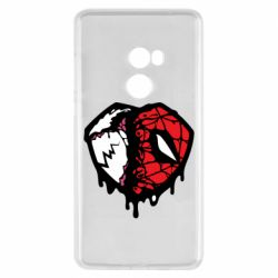 Чехол для Xiaomi Mi Mix 2 Venom and spiderman
