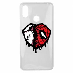 Чехол для Xiaomi Mi Max 3 Venom and spiderman