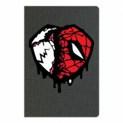 Блокнот А5 Venom and spiderman