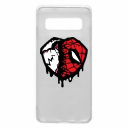 Чехол для Samsung S10 Venom and spiderman