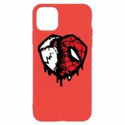 Чехол для iPhone 11 Pro Venom and spiderman
