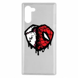 Чехол для Samsung Note 10 Venom and spiderman