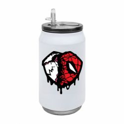 Термобанка 350ml Venom and spiderman