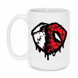 Кружка 420ml Venom and spiderman