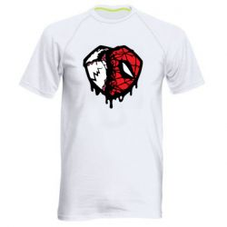 Чоловіча спортивна футболка Venom and spiderman