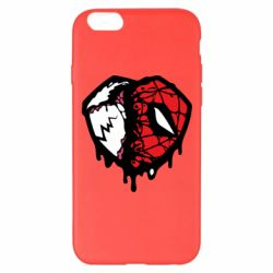 Чехол для iPhone 6 Plus/6S Plus Venom and spiderman