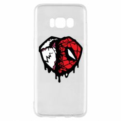 Чехол для Samsung S8 Venom and spiderman