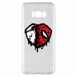 Чехол для Samsung S8+ Venom and spiderman
