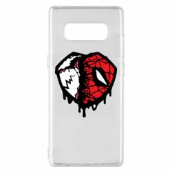 Чехол для Samsung Note 8 Venom and spiderman