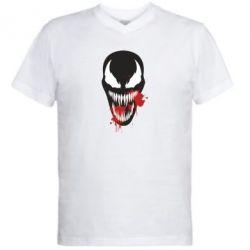 Чоловіча футболка з V-подібним вирізом Venom blood