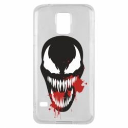 Чохол для Samsung S5 Venom blood