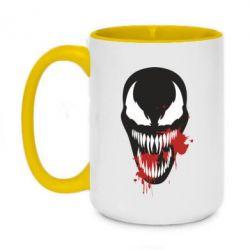 Кружка двоколірна 420ml Venom blood