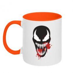 Кружка двоколірна 320ml Venom blood