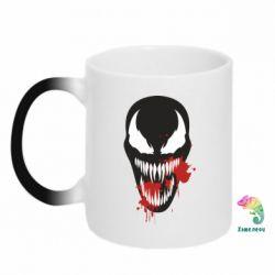 Кружка-хамелеон Venom blood