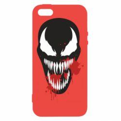 Купить Авторские принты, Чехол для iPhone5/5S/SE Venom blood, FatLine