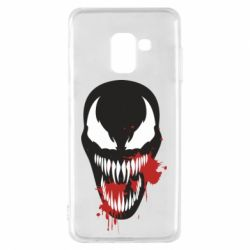 Чохол для Samsung A8 2018 Venom blood